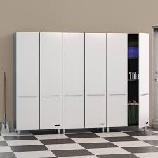 Free Standing Storage Cabinets For Garage by Garage Garage Cabinets Lowes For Organizing And Securing Items