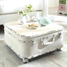 side table shabby chic furniture couchtich suitcase yourself diy