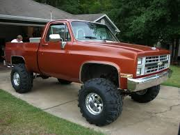 Old Lifted Chevy Trucks Elegant Silverado 4x4 Muscle Cars S