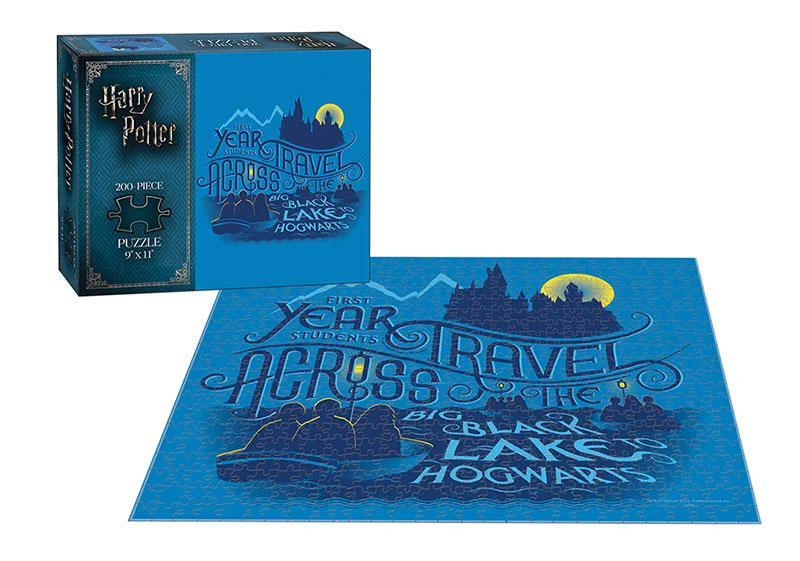 USAopoly Harry Potter Puzzle Journey to Hogwarts - 200 Piece
