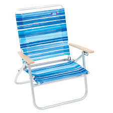 Rio Backpack Chair Aluminum by Shop Rio Brands Aluminum Folding Beach Chair At Lowes Com