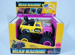 Vintage Lanard Mean Machine Monster Toy Truck 1984 80s Boxed Yellow ...