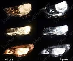 pack headlights xenon effect bulbs for chevrolet captiva