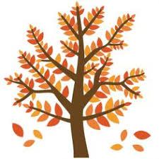 Cute Fall Tree Clipart 1