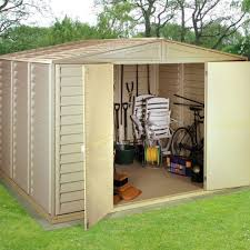 Keter 10x8 Stronghold Shed by Plastic Garden Sheds Home Outdoor Decoration