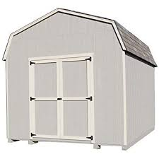 10x12 Barn Shed Kit by Amazon Com Little Cottage 12 X 10 Ft Classic Wood Gambrel Barn