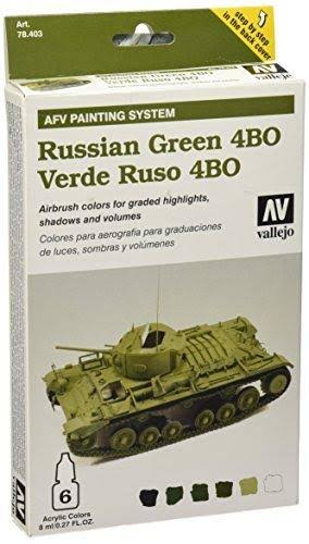 Vallejo Armour Set - AFV Russian Green
