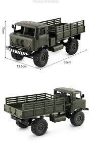 100 4wd Truck 116 Remote Control Military 6 24G 4WD Wheels Drive Off Road