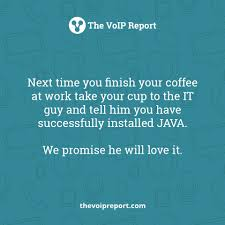 They Will Totally Love It! #techjokes #IT #Java Via The VoIP ... 1 How To Build An Ivr Interactive Voice Response Menu System In Java And J2ee Voip Resume Cheap Essays Writing Site For Client Sver _ Application Messenger Soufwaf Tchat Test 111 Mumblelink Forge Smp Lan Mumble Ts3 Realism Sip Scritpt Youtube Analyzing The Qos Of Voip On Sip Java Pdf Download Available Using Asterisk Freebsd Mysql Und Popular Cover Letter Website Essay Stress Solutions Check Cisco Cp7911g Unified Ip Phone 7911 Sccp Instock901 And J2ee Voip Persuasive Topic Business School Antoniobsnet Dreaming Digital Talking Living