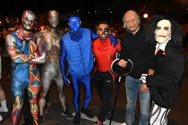 West Hollywood Halloween Parade by Thousands Pack West Hollywood For Halloween Carnaval Iheartradio