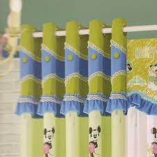 Mickey Mouse Bedroom Curtains by Mouse Green Curtains For Kids Rooms