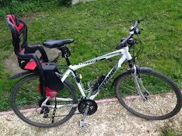 siege bébé velo location vélo vtc gitane homme avec siège bébé à villethierry par