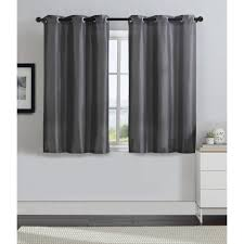 Nicole Miller Home Two Curtain Panels by Grommet Top Curtains Chelsea Damask Printed Grommet Top Curtain