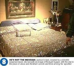 the master bedroom at neverland ranch michael jackson foto