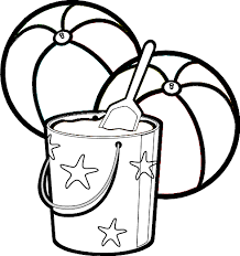 Beach Ball Coloring Pages 1699353