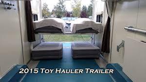 Custom RV Toy Hauler For Sale