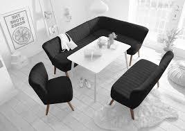 marcel essgruppe eckbank 2 sitzer stuhl esszimmer schwarz