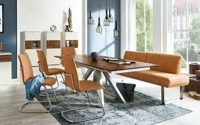 venjakob esstisch et665 massivholz mit 100cm klappeinlage