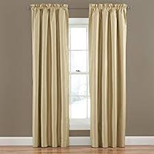 Eclipse Blackout Curtains 95 Inch by Amazon Com Eclipse Hayden Solid Blackout Window Curtain Panel 42