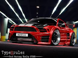 Ford Mustang Shelby GT500 by typerulez on DeviantArt