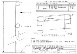 CAD DETAILS - AMERICAN RAILING SYSTEMS, INC. Wooden Front Porch Step Ideas Brick Pinned By Stair Railing Stairs Ada Exterior Handrail Requirements Home Design Mannahattaus Building Deck And Railings How To Build A Sstrcaseforbualowdesignsrailingyourhome To Code Compliant Part 2 Decks Deck Stair Railing Code Height Tread Rise Run Ratio Google Search Design 01 California Design And For Guards Deciphered This Is An All Steel Compliant Spiral Has A Flat Bar The Ultimate Guide Regulations Of 3