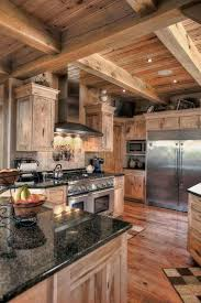 great log home kitchen and best 25 log home kitchens ideas on home