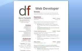 Web Developer Resume Examples 2016 Example Summary Experience