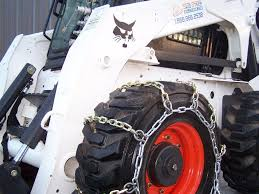 4-Link Snow Chains For Skid Steer Loaders | Skid Steer Solutions