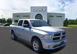 100 Colonial Truck Used 2017 RAM 1500 Express Crew Cab In Boston MA Area