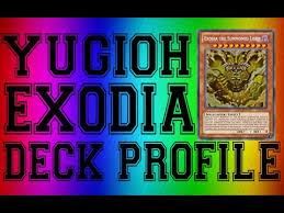 yugioh best 2016 exodia deck profile new cards youtube
