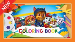 PAW Patrol Magic Coloring Book