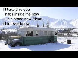 eddie vedder long nights w lyrics into the wild youtube