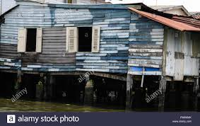 100 Homes In Bangkok Rustic Empty Old Canal Homes In Stock Photo