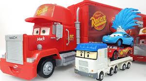 100 Disney Cars Mack Truck Hauler Tomica Learn Colors