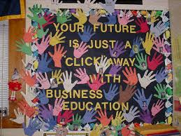 Business Education Bulletin Board Ideas