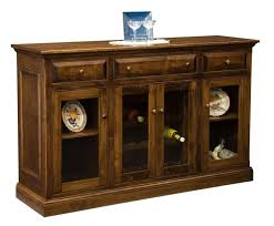 Dining Room Appealing Buffet With Glass