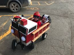 100 Fire Truck Halloween Costume Turn Your Wagon Into A Costume Contest Winning FIRETRUCK