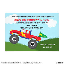 Monster Truck Invitation - Boys Birthday | 4th Birthday - Blaze Pool ... Monster Contruck Invitation Invite Pics Of Truck Fresh Birthday Invitations Personalized Invitation Boy By Uprint Etsy Party Ideas At In A Box 50 Off Sale 2nd Svg And Printable Clipart To Make Nice 94 In Design With Frozen Elsa Anna Trucks Food Jam Supplies Monster Truck Birthday Truck Birthday Party Invites Tonys 6th Bday