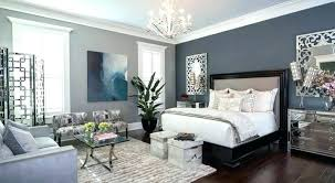 Blue Accent Wall Living Room Bedroom Of Unique False Ceiling Dark Grey With Yellow L Gray
