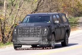Spied! Again: 2014 Cadillac Escalade ESV - Truck Trend News 2014 Cadillac Cts Priced From 46025 More Technology Luxury 2008 Escalade Ext Partsopen The Beast President Barack Obamas Hightech Superlimo Savini Wheels Cadillacs First Elr Pulls Off Production Line But Its Not The Hmn Archives Evel Knievels Hemmings Daily 2015 Reveal Confirmed For October 7 Truck Trend News Trucks Cadillac Escalade Truck 2006 Sale Legacy Discontinued Vehicles