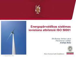 bureau veritas latvia energopārvaldības sistē ievieš atbilstoši iso 50001