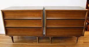Johnson Carper 6 Drawer Dresser by Mid Century Modern Bachelor Mini Dressers By Johnson Carper