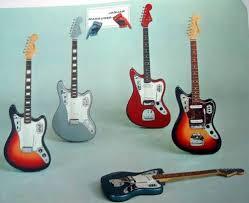 John Frusciante Fender Jaguar Red Fiesta