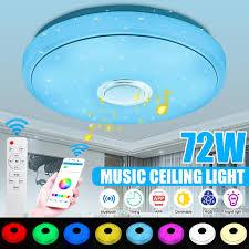 insma deckenleuchte bluetooth lautsprecher mit app fernbedienung farbwechsel dimmbar musik deckenle kinderzimmer wohnzimmer schlafzimmer warmweiss
