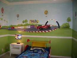 Boy Bedrooms Themed Race Car Bedroom For Boys