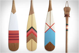Decorative Oars And Paddles by Artisan Canoe Paddles By Norquay