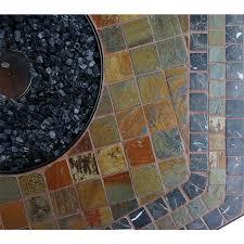 endless summer 55 hexagon lp gas outdoor bowl w slate