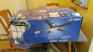 Harbor Breeze 52 Inch Ceiling Fan by Ean 6942513900160 Harbor Breeze Triton Ceiling Fan 52 Inch