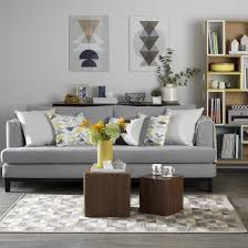 grey living room ideas mid century style teal blue and teal