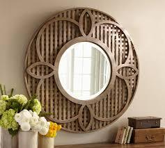 Decorating my Entry Way new Pottery Barn mirror